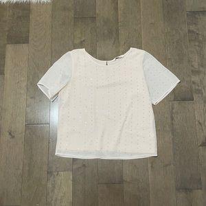 Rhinestone blouse
